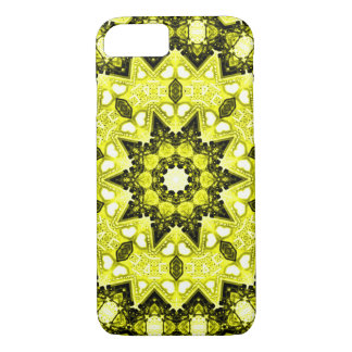 Gold Fractal iPhone 7 Case