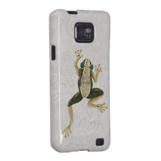 Gold Frog Jewel Photo Paisley Lace Samsung Galaxy Samsung Galaxy S2 Cover