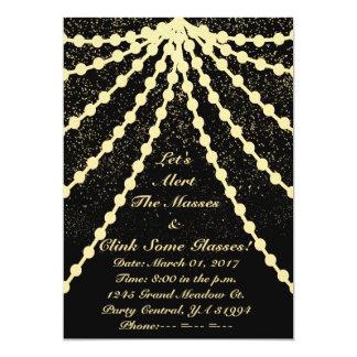 Gold Gala Card