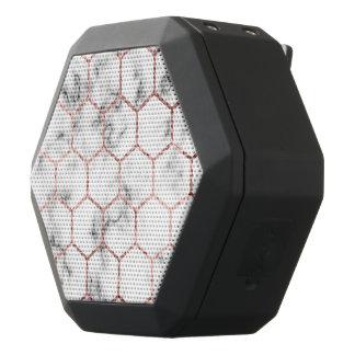 Gold,geometry,marble,pattern,modern,elegant,chic,e Black Bluetooth Speaker