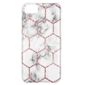 Gold,geometry,marble,pattern,modern,elegant,chic,e iPhone 5C Case