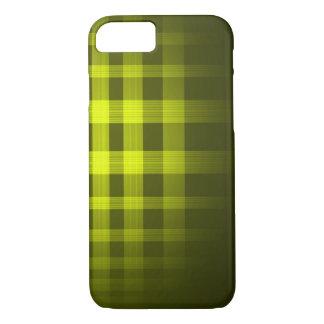 Gold Ghost Tartan Pattern iPhone 8/7 Case