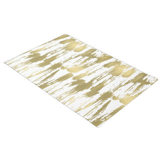 Gold Glam Abstract Doormat