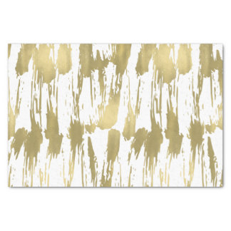 Gold Glam Abstract Tissue Paper