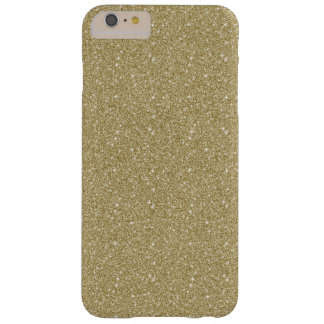 Gold Glitter Barely There iPhone 6 Plus Case