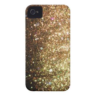 Gold Glitter Blackberry Bold Christmas Case iPhone 4 Case-Mate Case