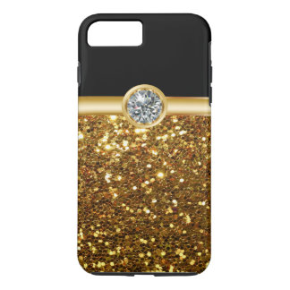 Gold Glitter Bling iPhone 7 Plus Case
