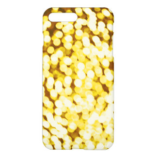 Gold Glitter Bokeh iPhone 7 Plus Case