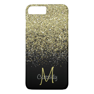 Gold Glitter, Girly, Trendy, Mobile iPhone 8 Plus/7 Plus Case