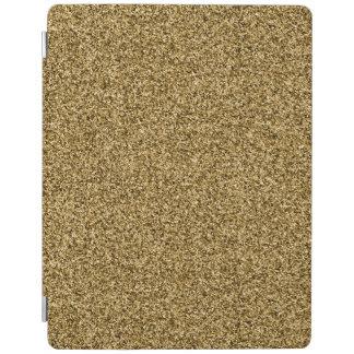 Gold glitter iPad cover