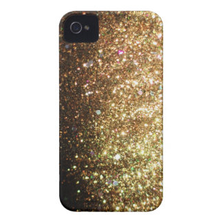 Gold Glitter iPhone Christmas Case