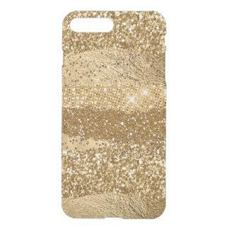 Gold Glitter Look iPhone 8 Plus Case