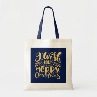 Gold Glitter Merry Christmas Elegant Typography