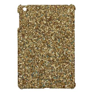 Gold Glitter Mini iPad Case - Christmas, Hanukkah!