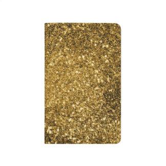 Gold Glitter Note Book