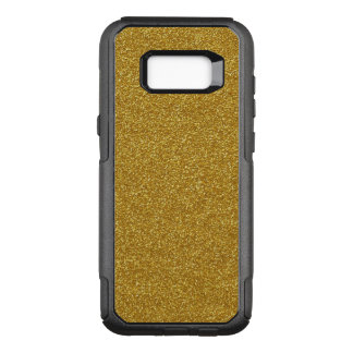 Gold Glitter OtterBox Commuter Samsung Galaxy S8+ Case