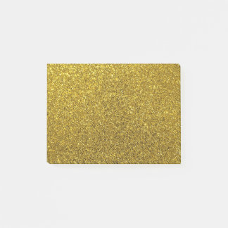 gold glitter sparkle school work post it notes