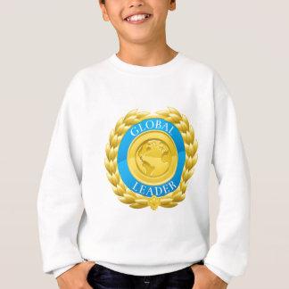 Gold Global Leader Winner Laurel Wreath Medal Sweatshirt