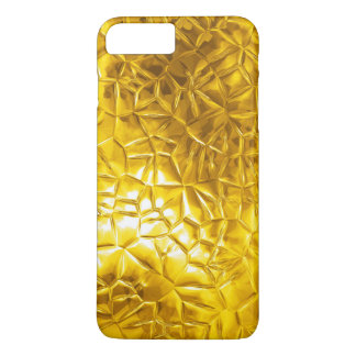 gold glowing texture iPhone 7 plus case