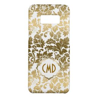 Gold Gradient Damasks Over White Background Case-Mate Samsung Galaxy S8 Case