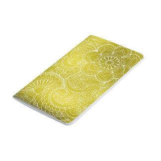 gold gradient zen pattern journal