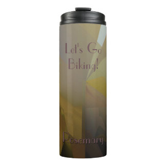 Gold, Gray, & Purple in the Afternoon Thermal Tumbler