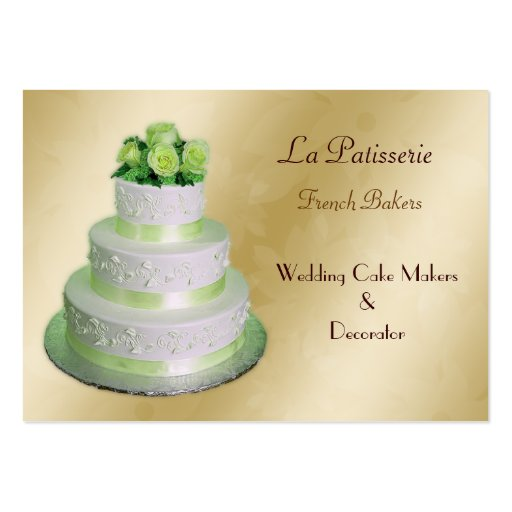 wedding cake business from home gold green wedding cake makers pack of business 22133