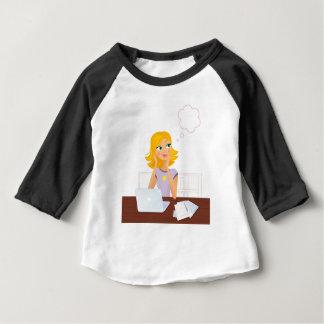 Gold hair Illustrated Secretary : Tshirts