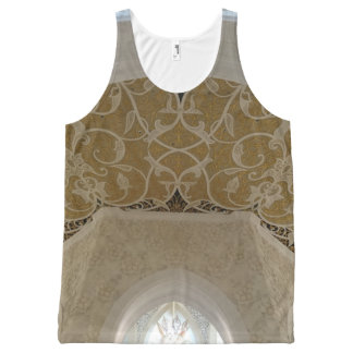 Gold Handcraft Ceiling Unisex Tank Top