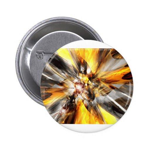 Gold Haze Pin