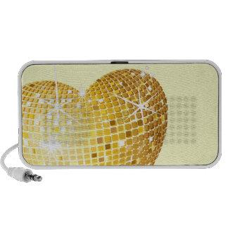 gold heart speaker system