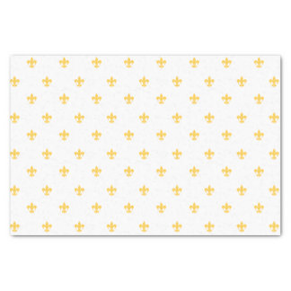 Gold Heraldic Lilly Tissue Paper