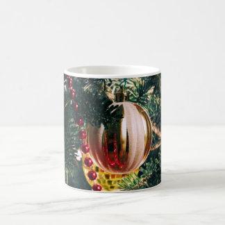 Gold Holiday Ornament Basic White Mug
