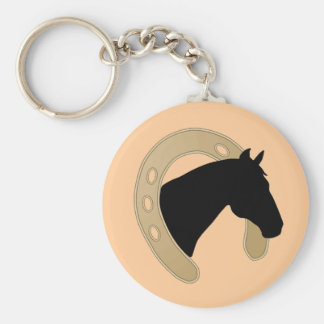 Gold Horseshoe KEYCHAIN