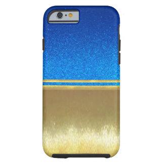 Gold Illusions Cool Purple Slim Shell Case