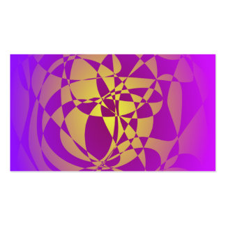 Gold in Purple Haze Business Card Templates