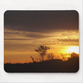Gold In The Sky Mouse Pad
