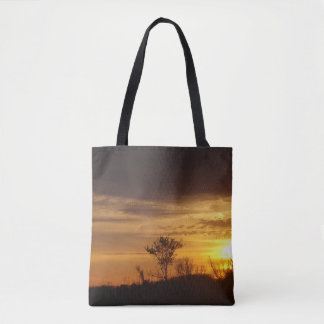 Gold In The Sky Tote Bag