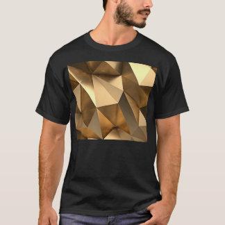 gold inside minimal 2 - black Lyons design j235 T-Shirt