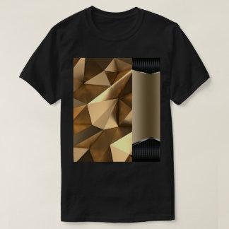 gold inside minimal - black Lyons design j235 T-Shirt
