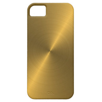 Gold iPhone 5 Cover