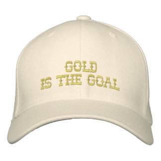 Gold Is The Goal Cap