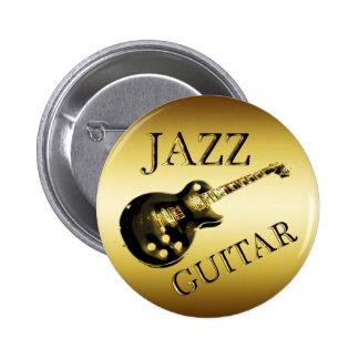 GOLD JAZZ GUITAR BUTTONS