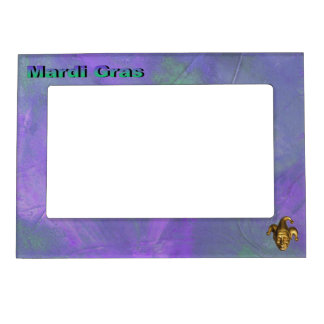 Gold Jester Magnetic Picture Frame