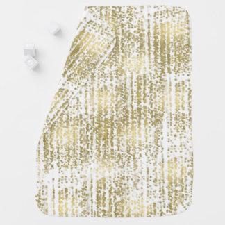 Gold Jewel Bokeh Abstract Receiving Blankets