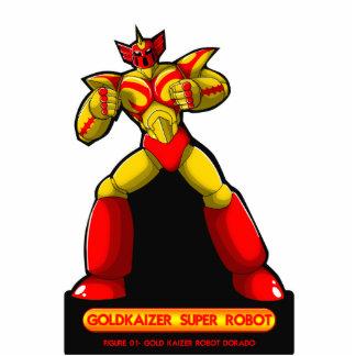 Gold Kaizer Photo Sculpture