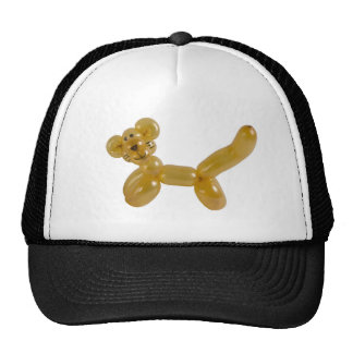 gold kitty balloon cap