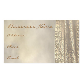 Gold Lace Business Card