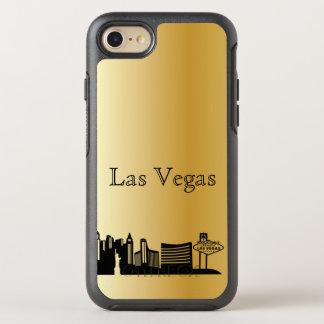 Gold Las Vegas Skyline Silhouette Case