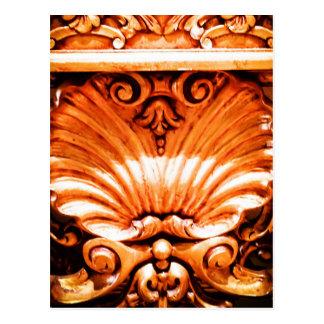 Gold_leaf_seashell_pattern.JPG Postcard
